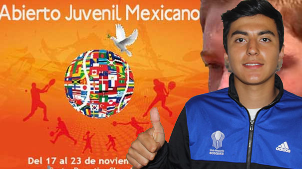 ALAN MAGADÁN HABLÓ DE SU TRIUNFO EN EL ABIERTO JUVENIL MEXICANO