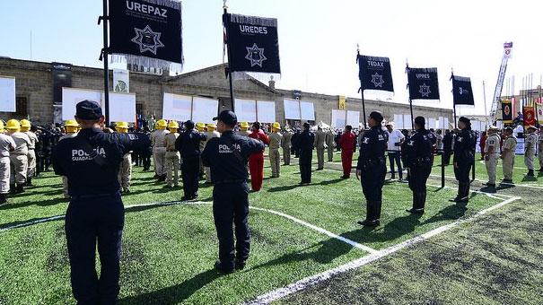 Inauguran V Juegos Latinoamericanos de Policías y Bomberos