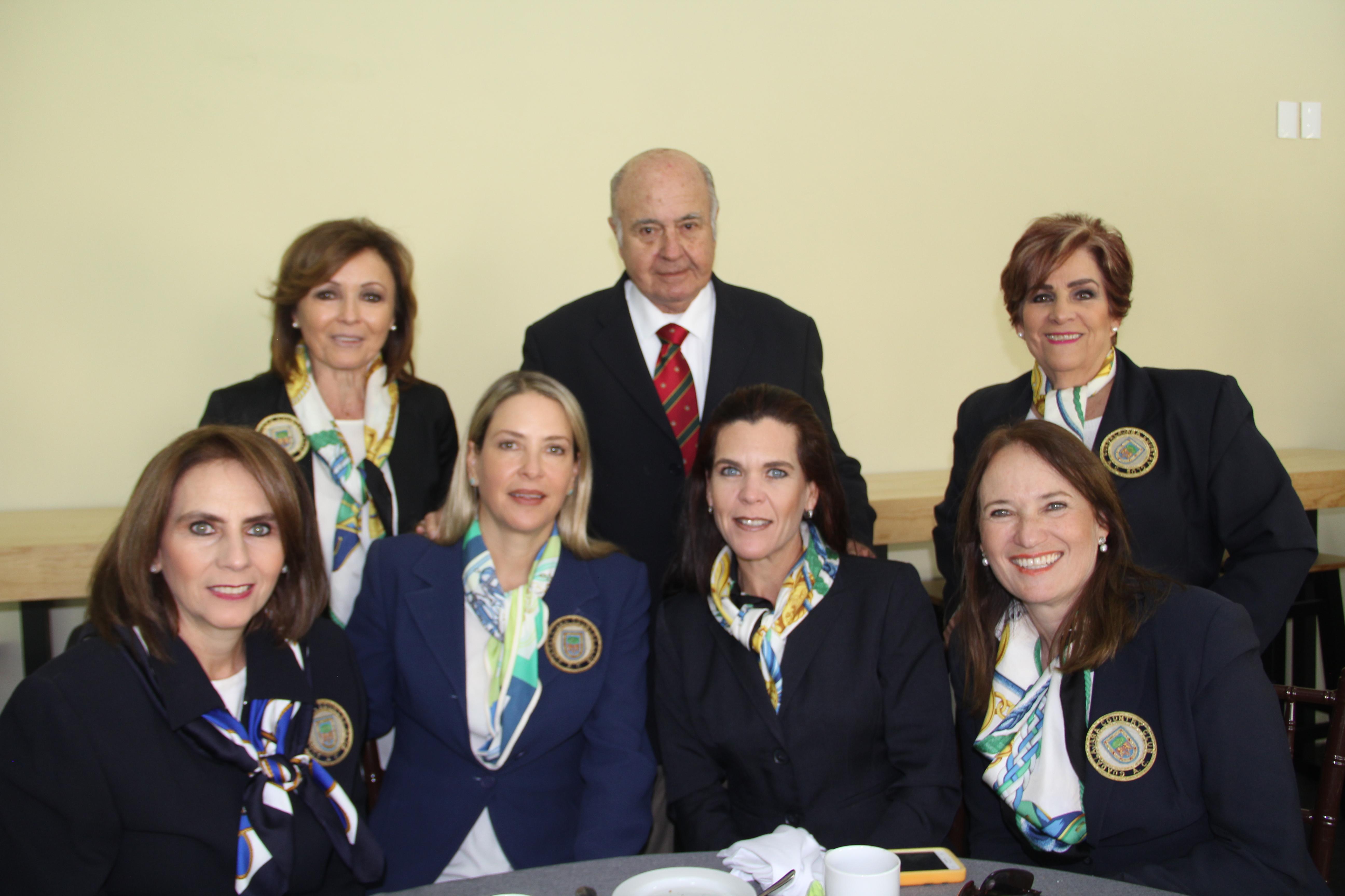 LOS VETERANOS MEXICANOS DE MANTELES LARGOS EN EL GUADALAJARA COUNTRY CLUB