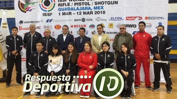 Guadalajara será sede de la Copa del Mundo de Tiro Deportivo