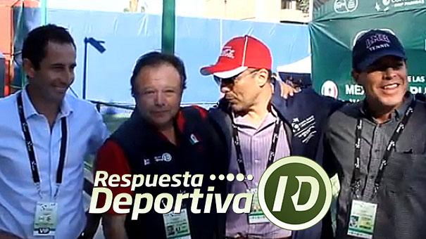 CUATRO NOSTÁLGICOS DEL TENIS INTERCAMBIARON PUNTOS DE VISTA A CALOR DE COPA DAVIS