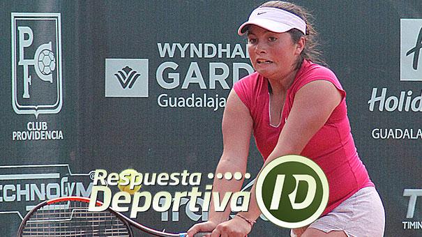 JULIA GARCÍA SATISFECHA EN EL CNAR