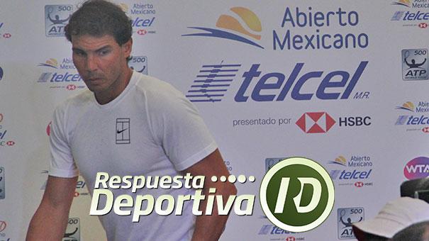 ALEJANDRO ÁLVAREZ CUESTIONÓ EL RETIRO DE NADAL DEL PUERTO DE ACAPULCO