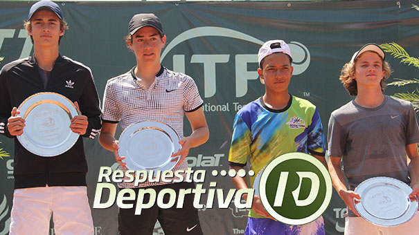 Se queda en casa el título de dobles de la Jalisco Junior Cup .