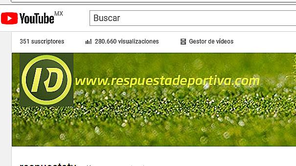 RESPUESTA DEPORTIVA TV ALCANZÓ LAS 280 MIL VISUALIZACIONES CON 351 SEGUIDORES