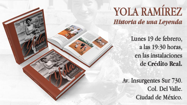EL LIBRO DE YOLA RAMÍREZ, DOBLE FINALISTA DE ROLAND GARROS SERÁ PRESENTADO