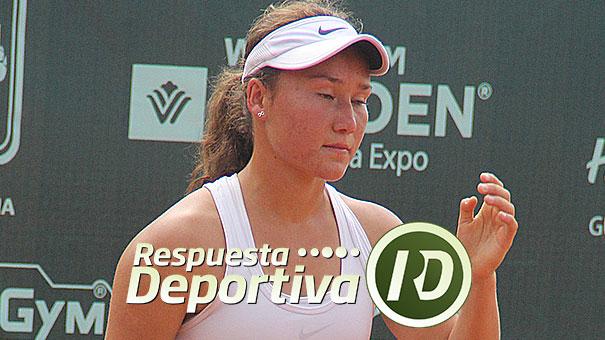 DYANE BARCENA EN CUARTOS DE FINAL EN EL ITF DE GUATEMALA