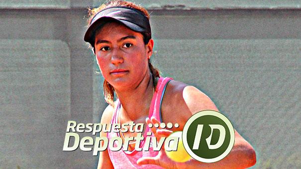 MARÍA FERNANDA CARVAJAL CUARTOFINALISTA EN COLOMBIA