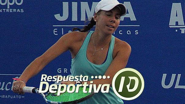 GIULIANA OLMOS 105 DE LA WTA EN DOBLES