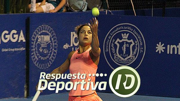 WTA DE MONTERREY: RENATA ZARAZÚA CON WILD CARD EN MAIN DRAW