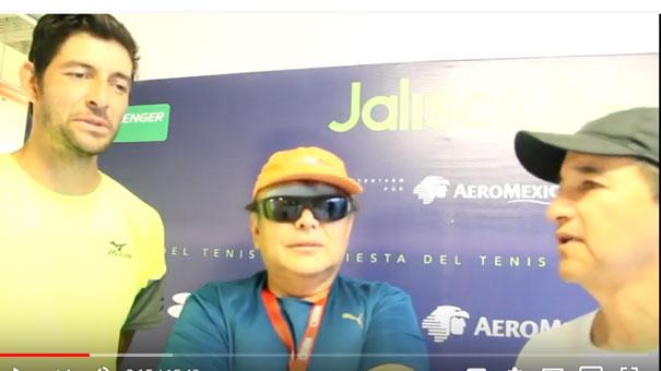 EL SALVADOREÑO QUE VINO A GANAR CHALLENGERS A MÉXICO HABLÓ DE SU PROCESO EN EL JALISCO OPEN