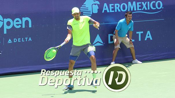 Marcelo Arévalo a la final del Jalisco Open.