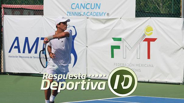 MAURICIO ASTORGA CON UN CETRO MÁS DEL CIRCUITO PRO DE CANCUN TENNIS ACADEMY