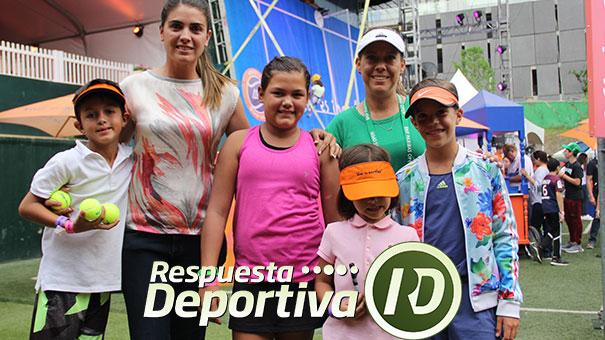 TENISTAS INFANTILES PRESENTES EN EL WTA DE MONTERREY