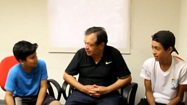 TENISTAS DE SINALOA DIERON SUS PUNTOS DE VISTA ANTE EL PRIMER VICEPRESIDENTE DE A FMT