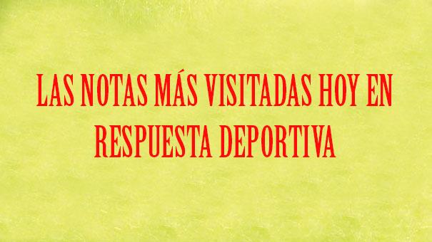 LISTA DE LA COPA JITIC LA NOTA MÁS VISITADA DE HOY EN RESPUESTA DEPORTIVA