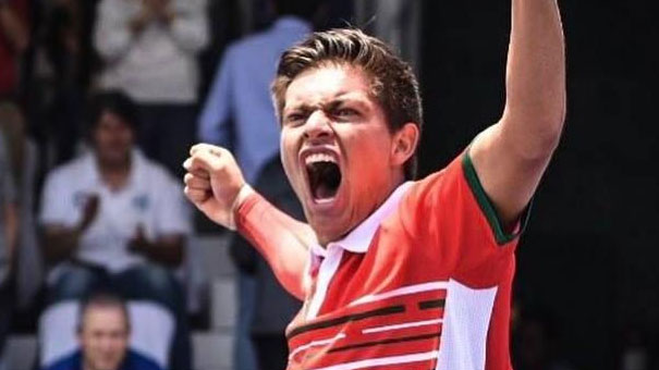 Jerry López sorprende al 3er sembrado y se mete a octavos en el Torneo Internacional Future Nestlé Cerelac 2018