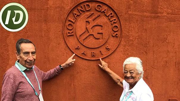 YOLANDA RAMÍREZ IMPONE ADMIRACIÓN Y RESPETO EN ROLAND GARROS