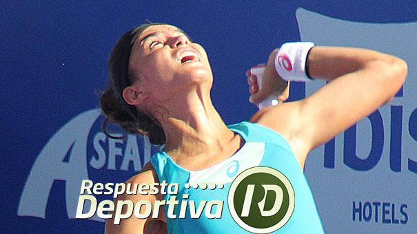 ANA SÁNCHEZ CON DESPEDIDA PREMATURA EN EL ITF DE BARCELONA