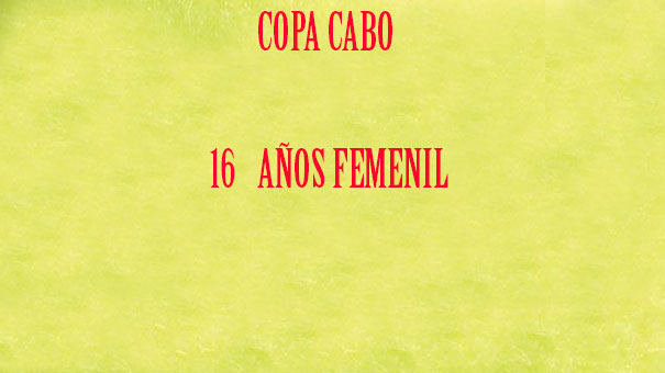 COPA CABO 16 FEMENIL
