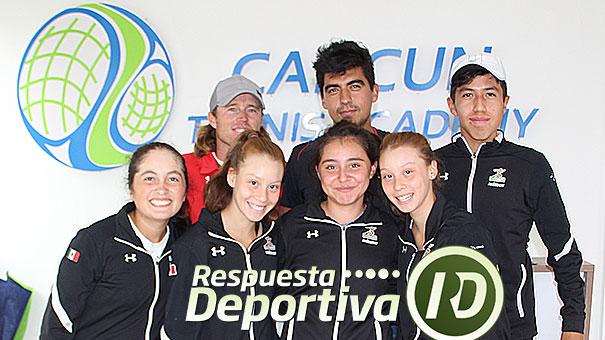 COPA JITIC: EQUIPO DE CONADE EN CANCUN TENNIS ACADEMY