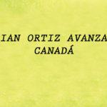 ADRIAN ORTIZ AVANZA EN CANADÁ