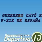 JEFF GUERRERO FUE VENCIDO EN LA TERCERA DE LA PREVIA DEL ESPAÑA XIX A NIVEL FUTURE