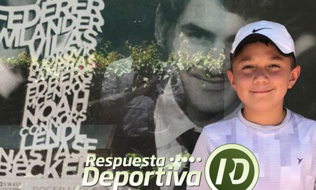 MÁXIMO LLAMAS SE ENCENDIÓ PARA LLEGAR A LA SEMIFINAL DEL NACIONAL DE 12 AÑOS