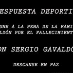 FALLECIÓ DON SERGIO GAVALDÓN