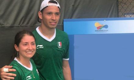 ALAN NÚÑEZ Y ANDREA VILLARREAL SUDARON FRÍO, PERO GANARON