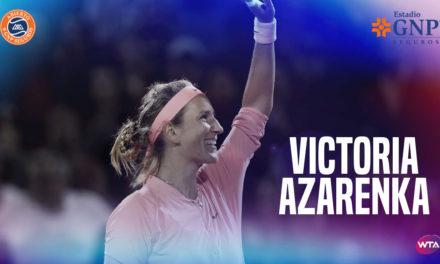 VICTORIA AZARENKA ESTRELLA DEL WTA DE MONTERREY EN 2019