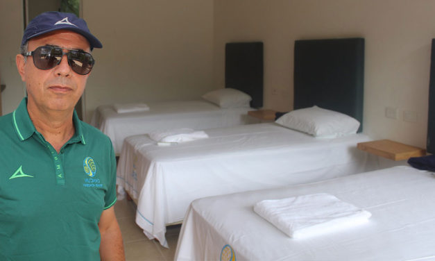 JAVIER ESTRENO HOTEL EN CANCUN TENNIS ACADEMY