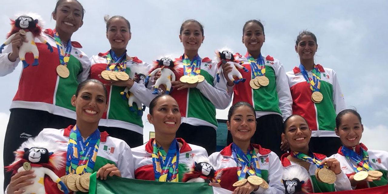 SIRENAS MEXICANAS ESCULPIDAS EN ORO