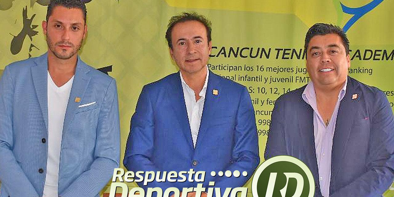 CANCUN TENNIS ACADEMY SEDE DEL CAMPEONATO NACIONAL MASTER 2018