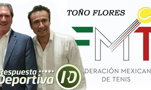 TOÑO FLORES, ASEGURA QUE LA FMT PROMOVERÁ LA PARTICIPACIÓN DE ENTRENADORES MEXICANOS EN EL SIMPOSIO DE TENIS