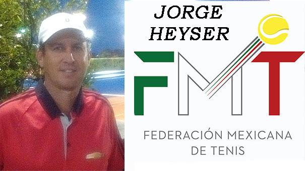 JORGE HEYSER, DIRECTOR DE LA ESCUELA DEL CLUB LOMAS CON EQUIPO COMPLETO AL SIMPOSIO DE TENIS EN ZAPOPAN