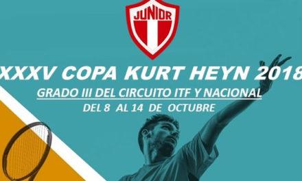 CONVOCATORIA COPA KURT HEYN-NACIONAL