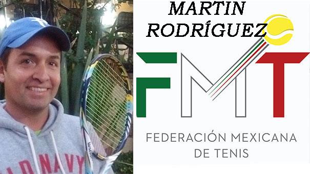 PROFESIONAL DEL SAN JAVIER CLUB PRIVADO, MARTÍN RODRÍGUEZ,  ESTARÁ PRESENTE EN EL SIMPOSIO DE TENIS EN ZAPOPAN