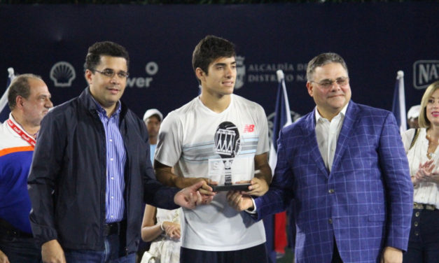 SANTO DOMINGO OPEN: CHRISTIAN GARÍN MONARCA