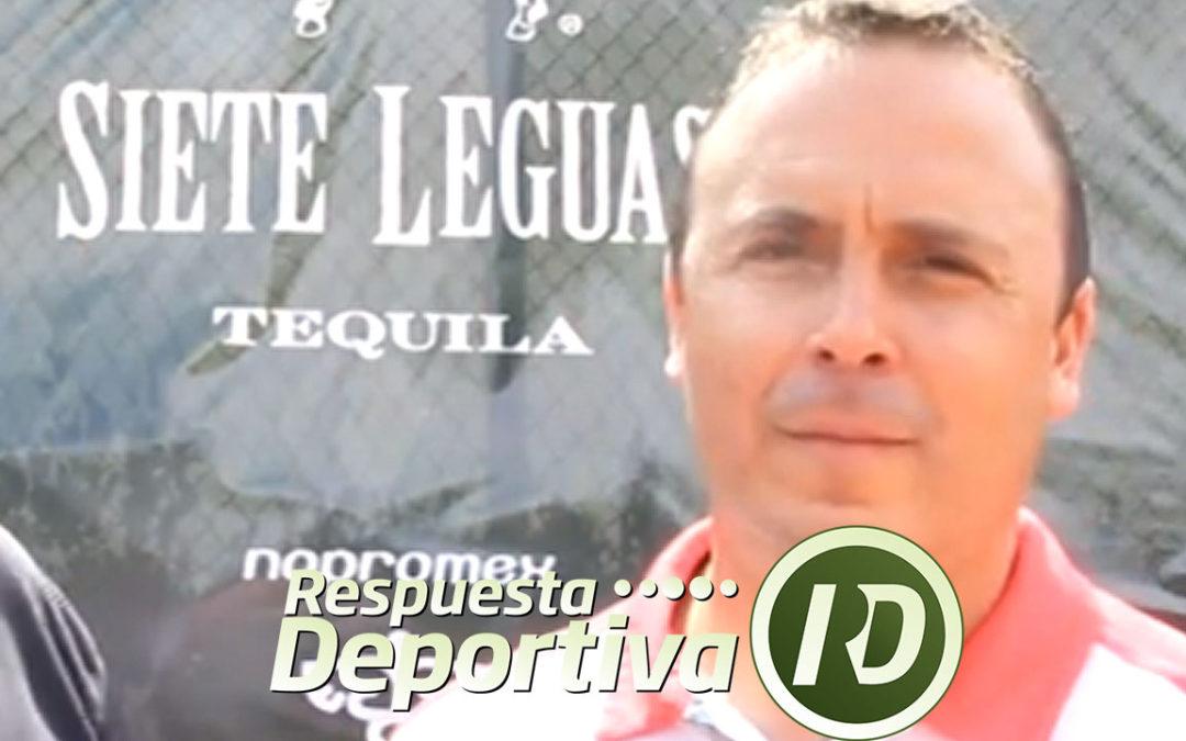 JAVIER ROMERO INFORMÓ A ALEJANDRO ÁLVAREZ DEL INCREMENTO DE LA BOLSA DEL CHALLENGER DE PUERTO VALLARTA