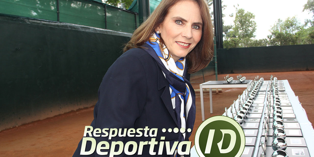 INTERESANTE CHARLA DE TENIS EN VOZ DE PATRICIA URREA