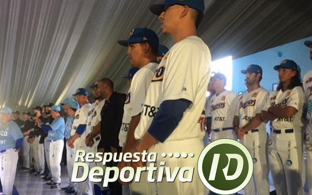 Presentan roster y nuevos diseños Charros de Jalisco.
