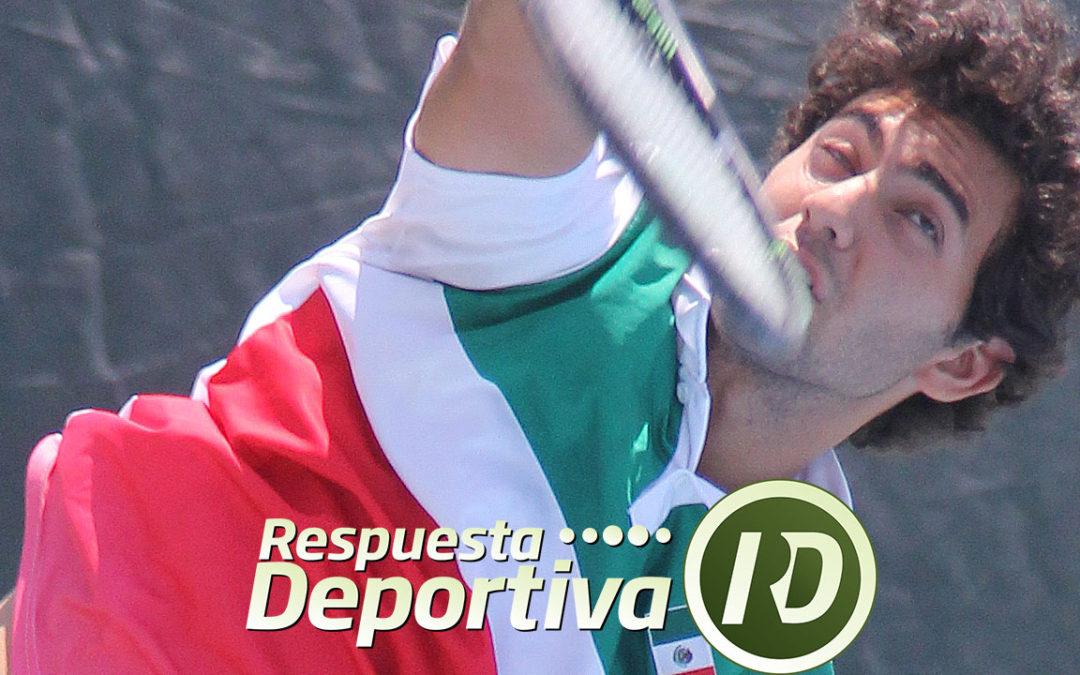 ALAN RUBIO CALIFICÓ AL MAIN DRAW DEL USTA XXVII
