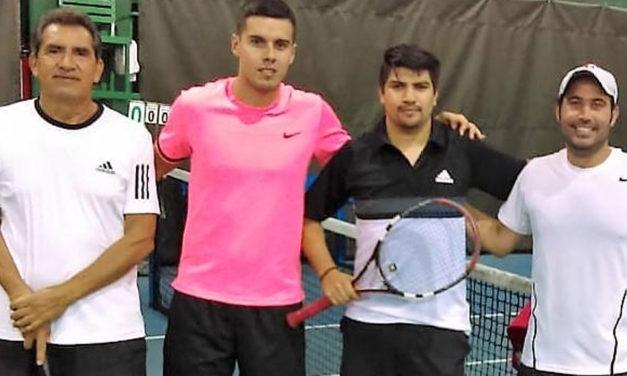 Tenis Lomas se mantiene invicto en el Torneo Interempresarial