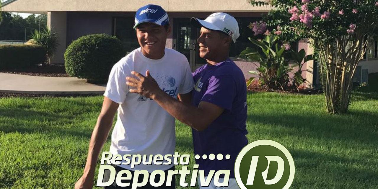 ALEJANDRO HERNÁNDEZ CON RIVAL EN EL USTA XXX