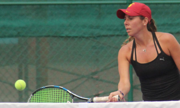GIULIANA OLMOS 79 DEL MUNDO EN DOBLES FUE FINALISTA DEL WTA DE HOUSTON