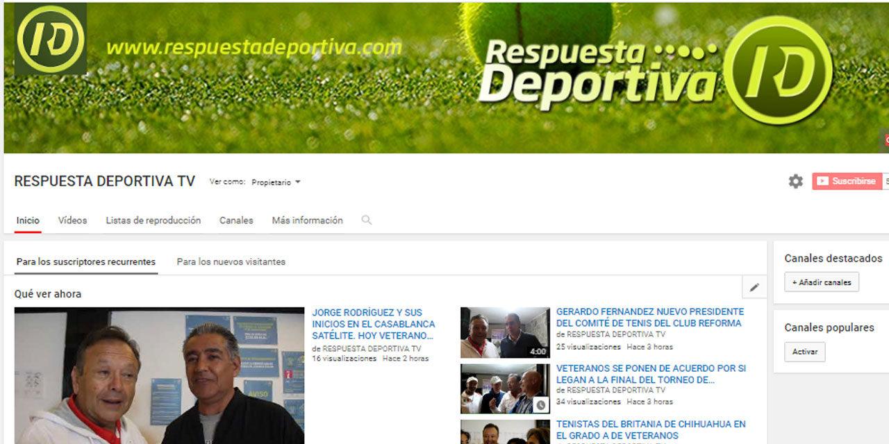 RESPUESTA DEPORTIVA LLEGA A 400 MIL VISUALIZACIONES EN SUS VIDEOS