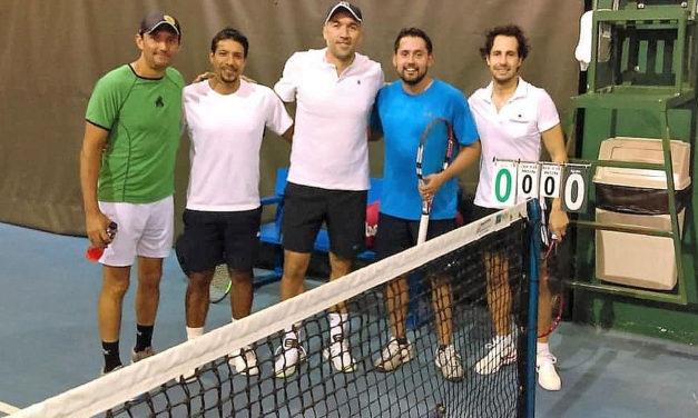 Bosques se consolida en la cima de la categoría A, dentro del Torneo Interempresarial de Tenis