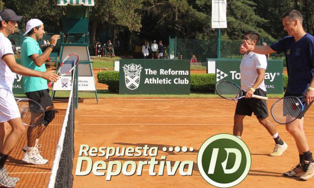 VETERANOS CLUB REFORMA 2018: DRAWS DOBLES ITF