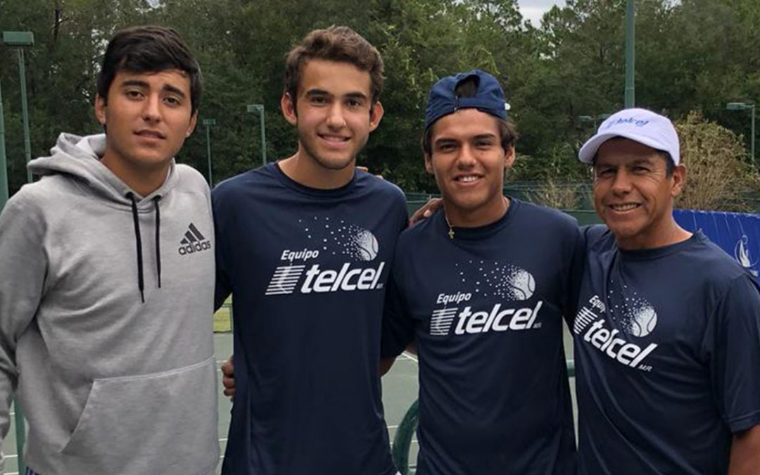 MARCELO SEPULVEDA se encuentra listo en Niceville Florida, para jugar la fase de calificación del torneo de tenis USA F30 Futures